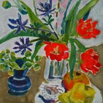 birnemuschelblumen 202x202 Malerei