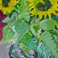ibitzaschalesonnenblumen 202x202 Malerei