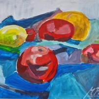 kubistischerapfel 202x202 Malerei