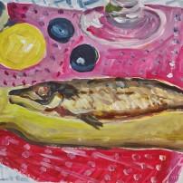 raeucherfisch 202x202 Malerei