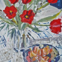 tulpemandarinexpressiv 202x202 Malerei